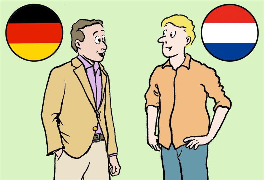 Cultuurverschillen Duitsland-Nederland (Duits)